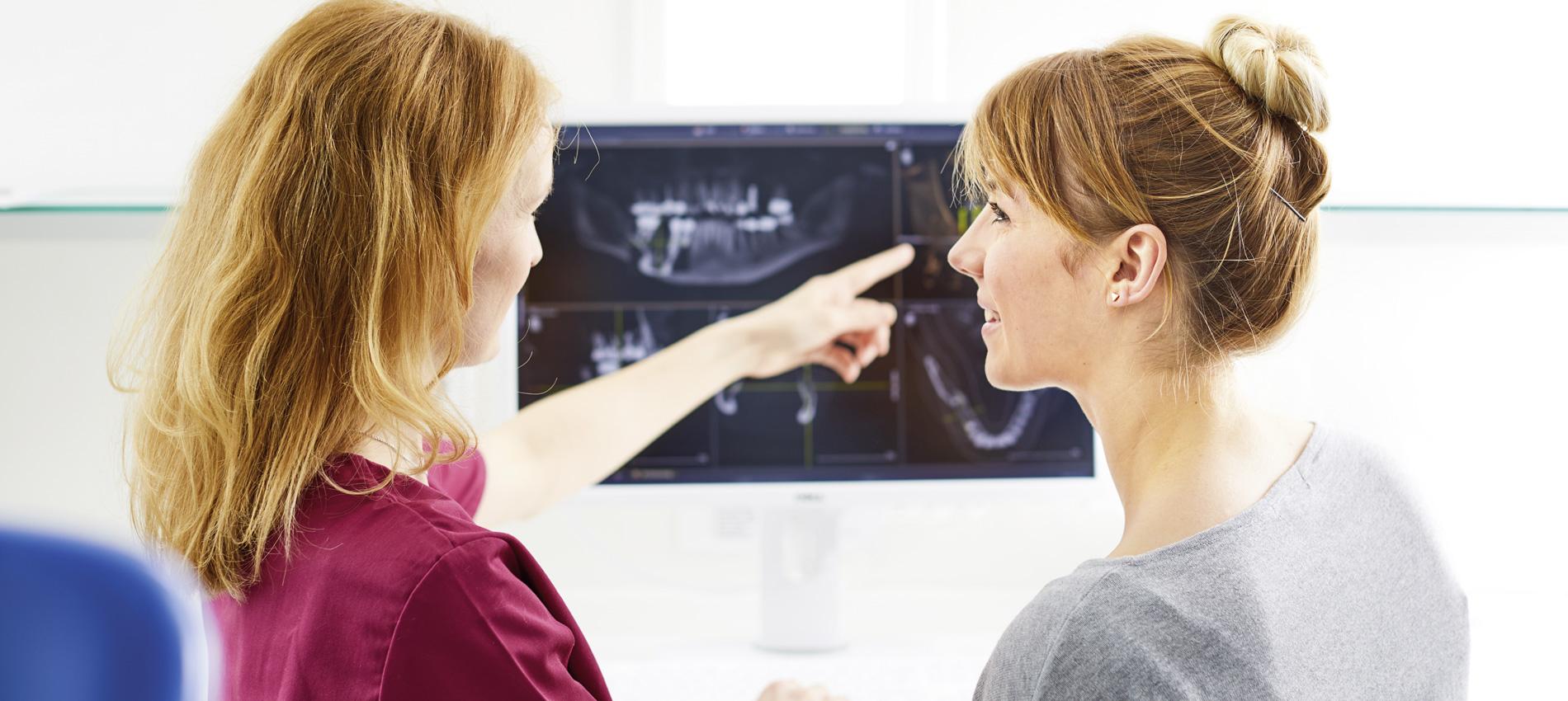 Zahnarztpraxis Dr. Christiane Langrock - Knochenaufbau/Augmentation 1