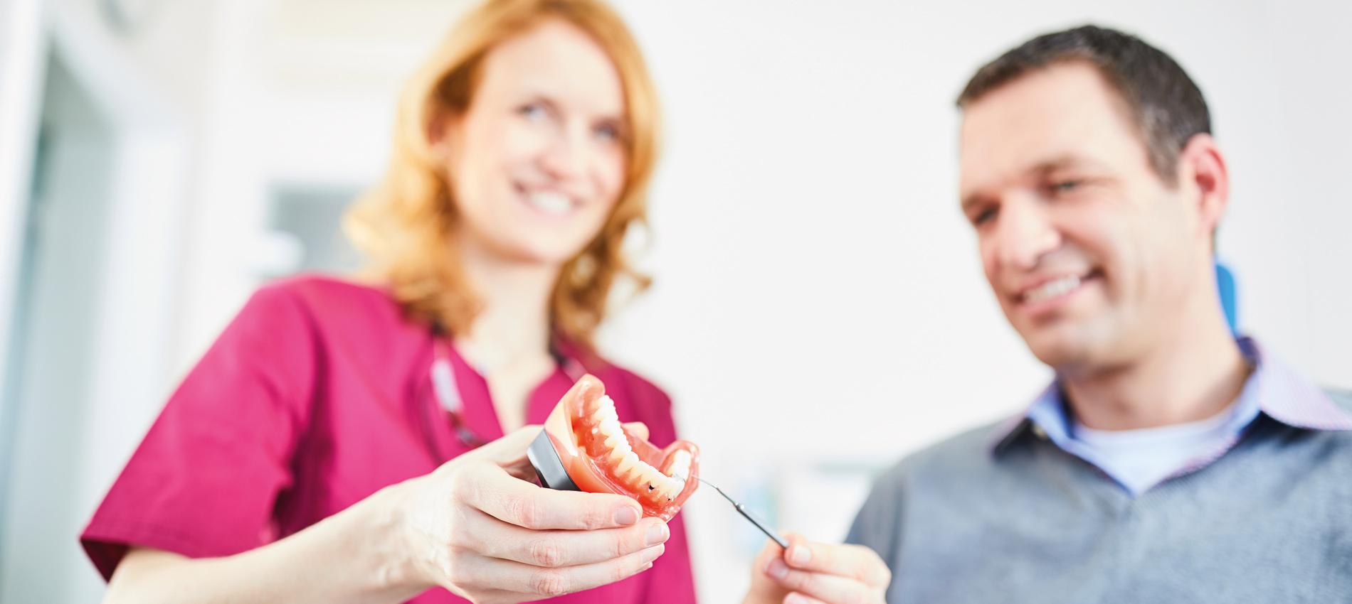 Zahnarztpraxis Dr. Christiane Langrock - Prothetik 1